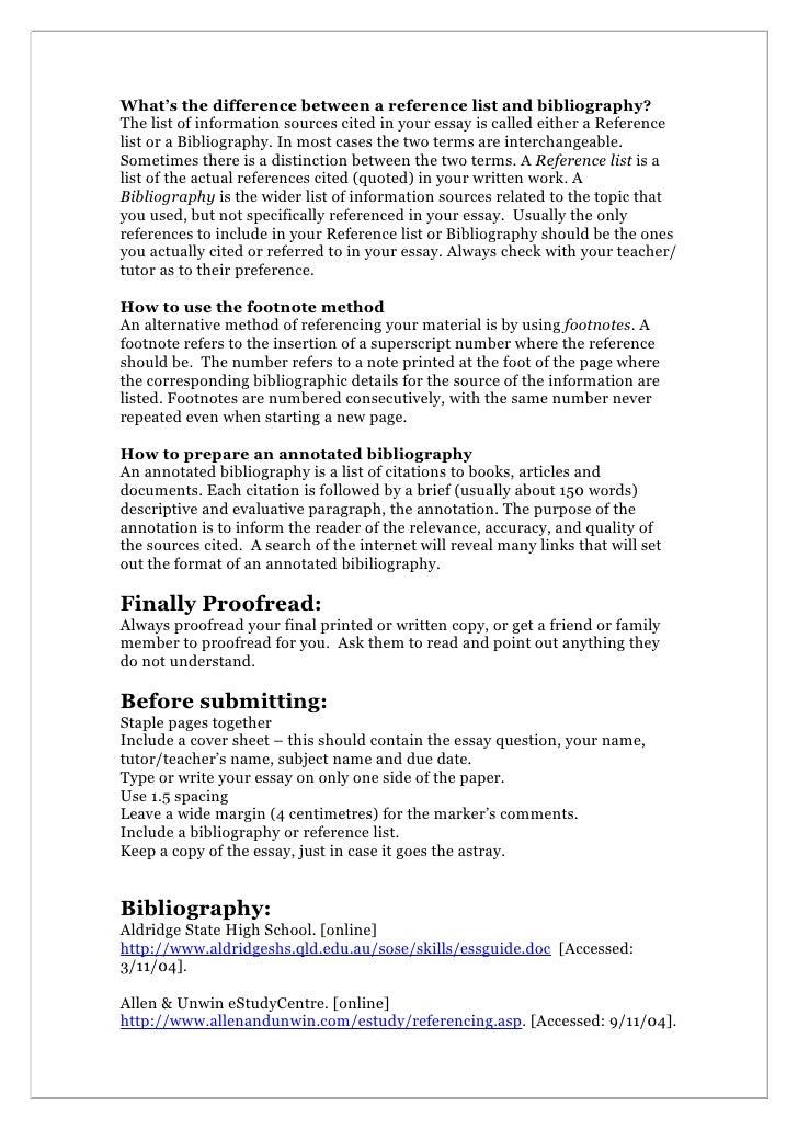 essay reference page - Elita.mydearest.co