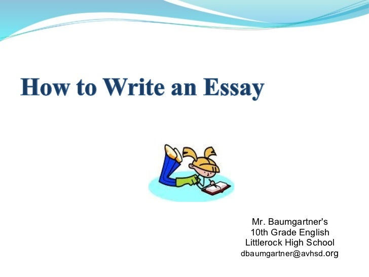5 types of essay writing ppt