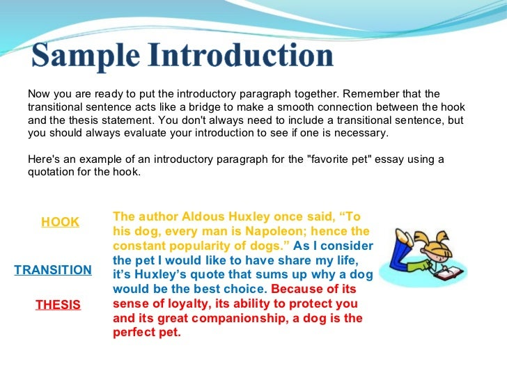 "introduction for an essay about dogs Why dogs are better than cats dogs are often called ""man's best friend"" and make ideal pets introduction example of an argumentative essay for."