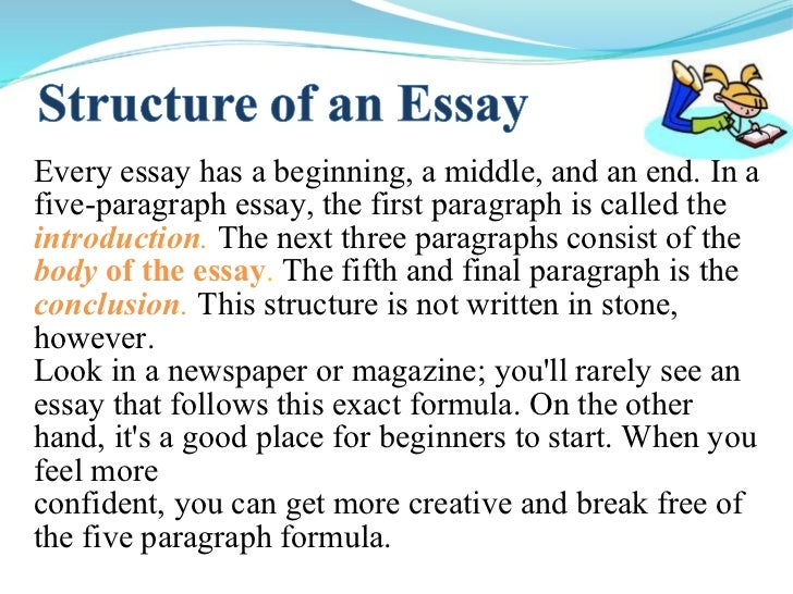 how long can a paragraph be in an essay Best answer: an essay should have 5 paragraphs the beginning is the introductions the middle 3 paragraphs should be about the topic ur talking about and.