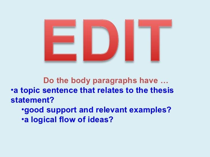 Signpost in essay