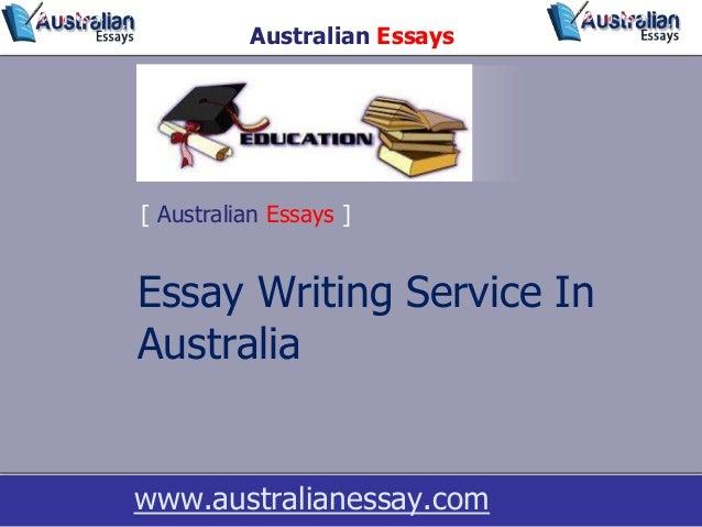 Australia essay writing service