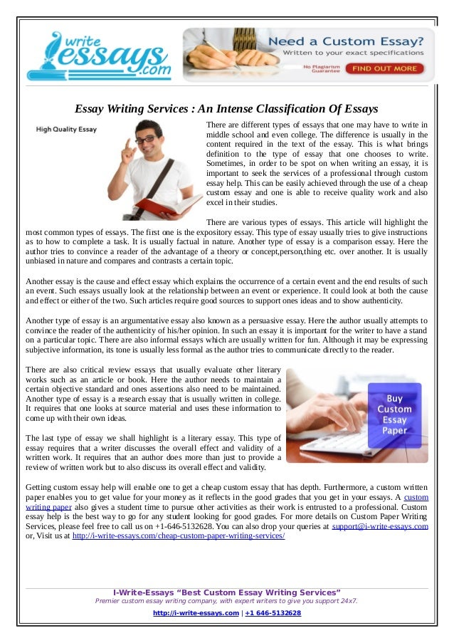 Essay Of Newspaper Essay Writing Services  An Intense Classification Of Essays There Are Different  Types Of Essays That Need Help Writing Assignment also Proposal Essay Topic List Essay Writing Services  An Intense Classification Of Essays The Yellow Wallpaper Essay