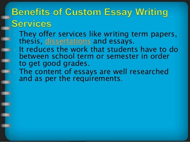 Essay writing service recommendation management