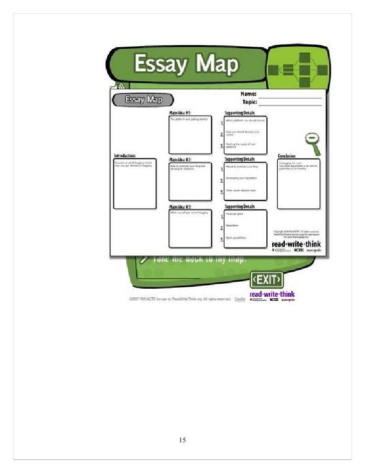 thinking maps essay writing