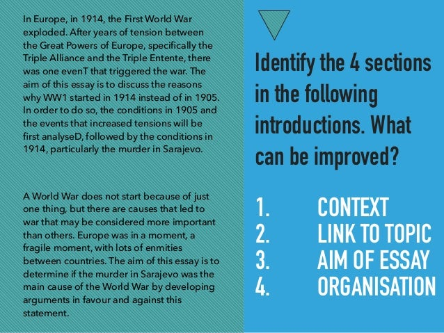 history essay writing tips organisation introduction 5