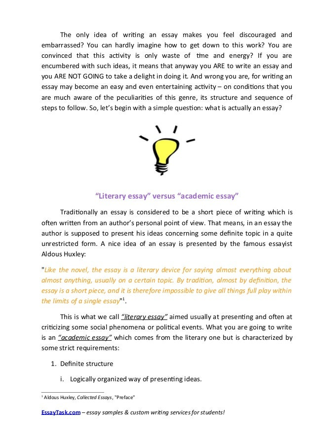 Easy essay writing guide