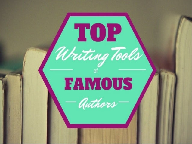 Top Writing Tools of Famous Authors with NinjaEssays