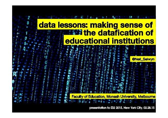 #DigitalSociology ofEducation