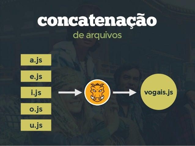 concat  no Gruntfile.js grunt.initConfig({ concat: { options: { separator: ';', }, dist: { src: ['src/a.js', 'src/e.js'], ...