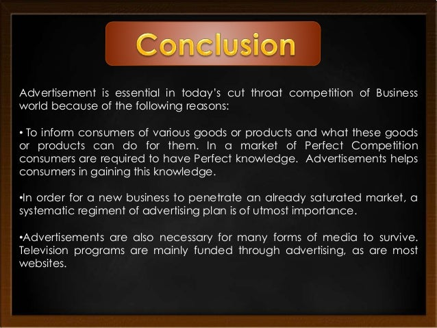 Essence of advertising in promotion mix