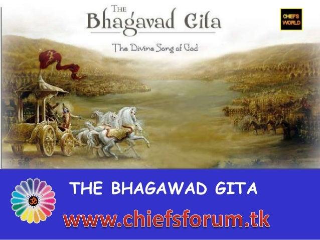 THE BHAGAWAD GITA