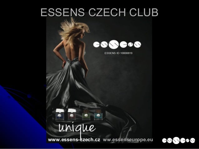 www.essens-czech.cz ww.essenseurope.euww.essenseurope.eu ESSENS CZECH CLUBESSENS CZECH CLUB