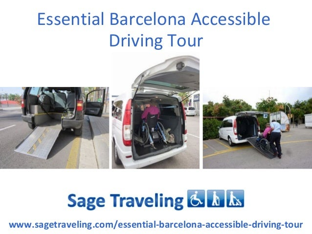 Essential Barcelona Accessible                 Driving Tourwww.sagetraveling.com/essential-barcelona-accessible-driving-tour