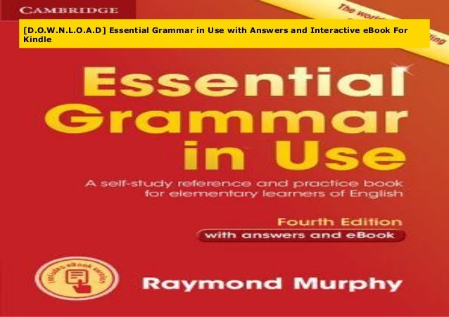 essential grammar in use pdf free download