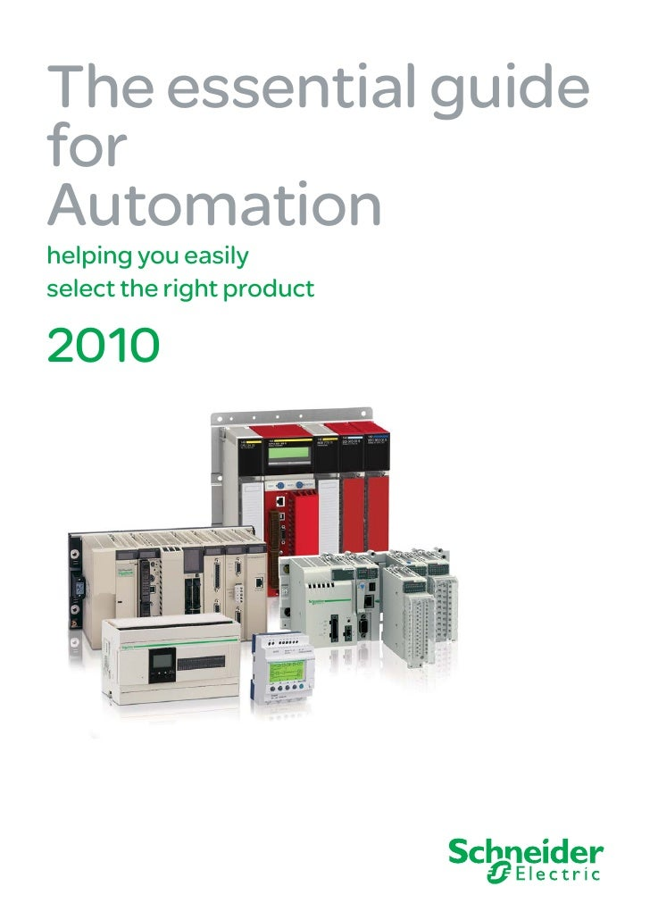 The essential guide for Automation helping you easily select the right product  2010