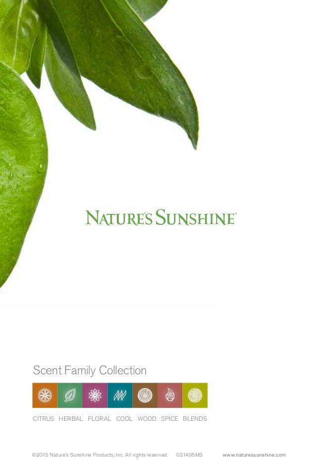 Essential Oils Natures Sunshine