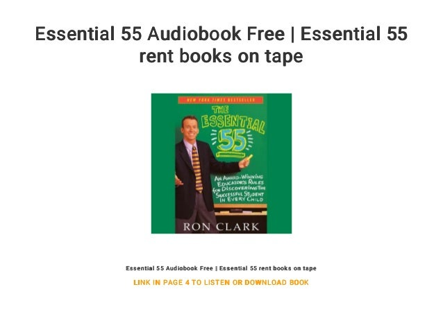 The Essential 55 Book
