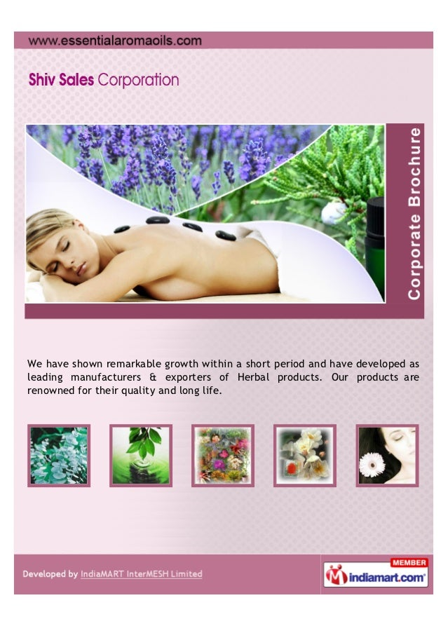 We have shown remarkable growth within a short period and have developed asleading manufacturers & exporters of Herbal pro...