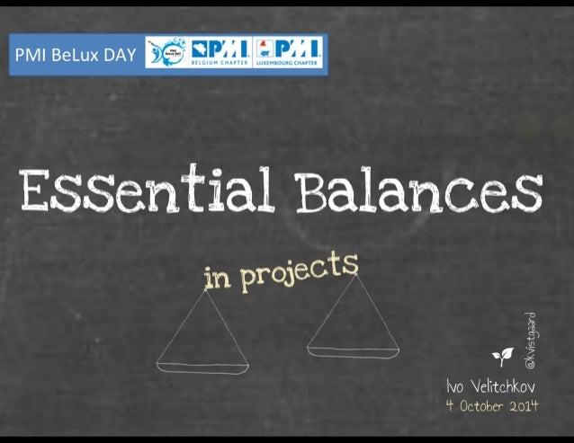 Essential Balances