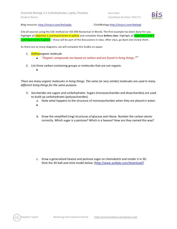 Blog resource:  http://tinyurl.com/4m5aqbz   Click4Biology: http://tinyurl.com/4atlxq6 <br />Cite all sources using the CS...