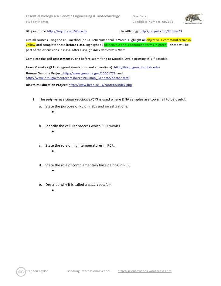 Blog resource: http://tinyurl.com/459sxqx                Click4Biology: http://tinyurl.com/4dpmu73  <br />Cite all sources...