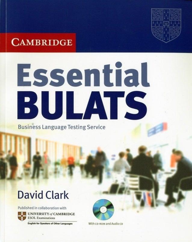 Essential Bulats Book