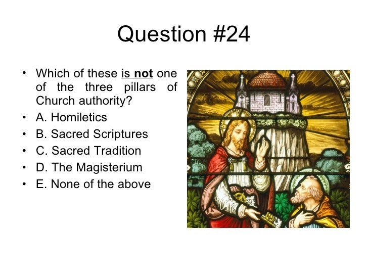 graphic about Catholic Trivia Questions and Answers Printable titled Crucial Catholic Quiz I
