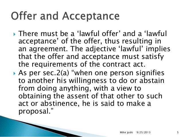 what are the essential elements of a valid contract