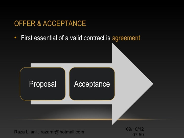 the valid contract How to write a legal contract a contract creates legal obligations between two or more parties (individuals, businesses, institutions, etc) involved in the contract.