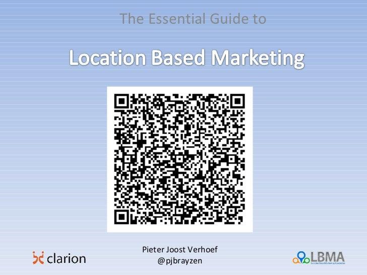 The Essential Guide to Pieter Joost Verhoef @pjbrayzen