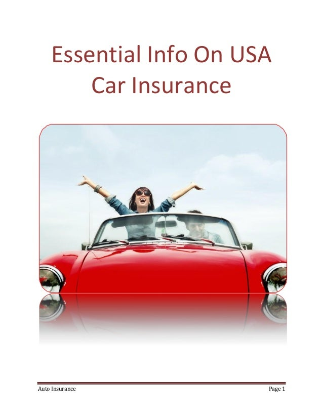 Usa Auto Insurance >> What S Different With Usa Car Insurance