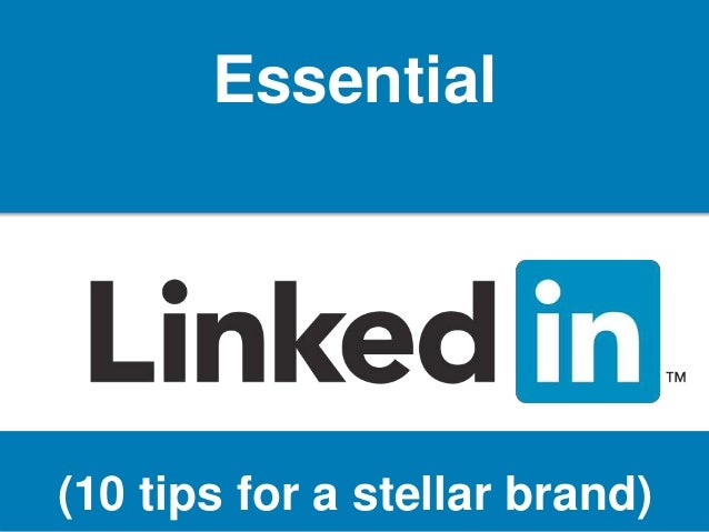 @KCCLAVERIA Essential (10 tips for a stellar brand)
