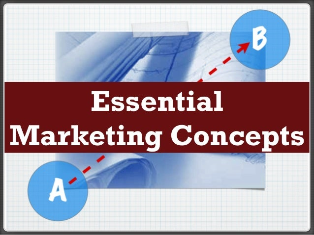Essential Marketing Concepts