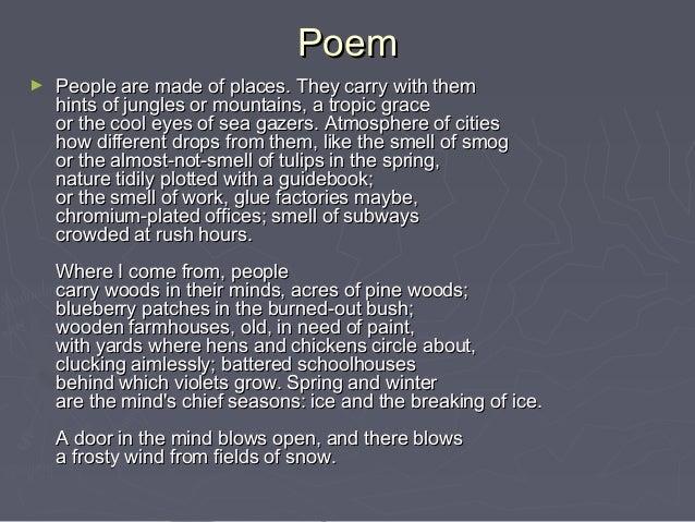 Chromium poem