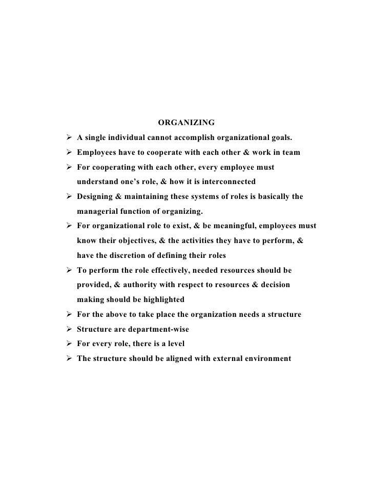 Essential Of Management
