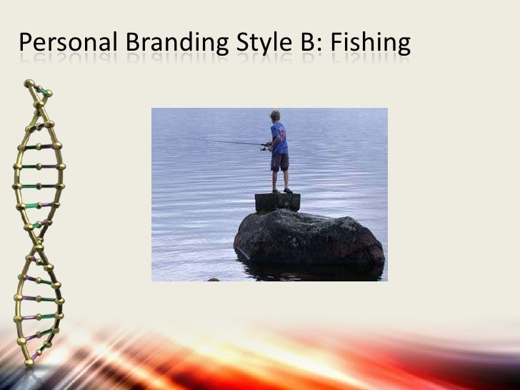 Personal Branding Style B: Fishing