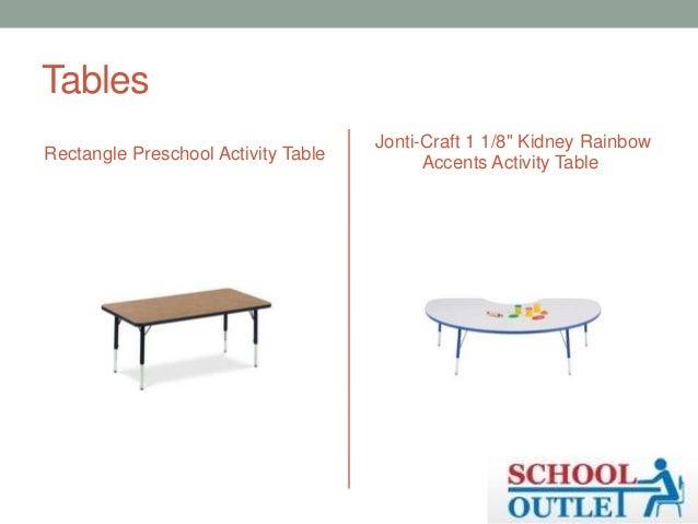 Tables Rectangle Preschool Activity ...