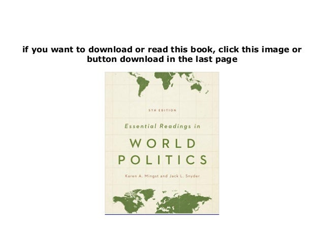 downloadpdf library essential readings in world