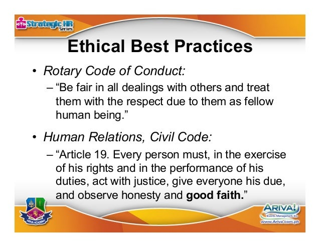 Good Faith Test 1. Do no harm. 2. Make things better. 3. Respect others. 4. Be fair. 5. Be compassionate.