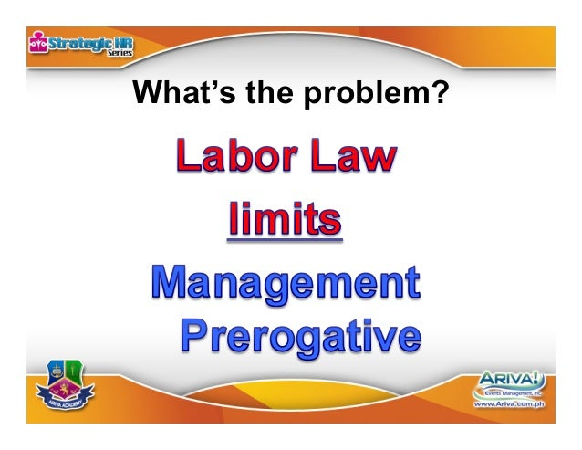 Limitation No. 1 •Article 291 paragraph 2, Labor Code •(Formerly Article 277)