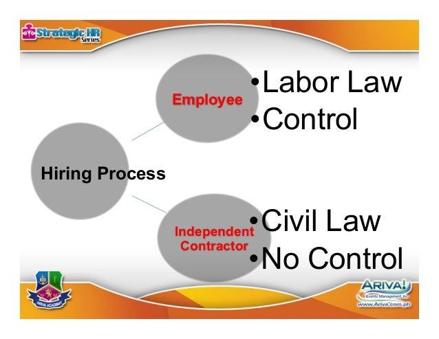 Labor Law Control