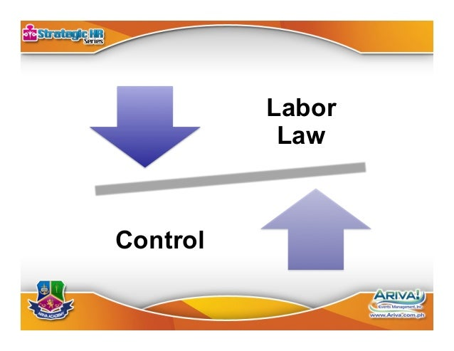 Labor Law 1. Full protection 2. Living wage 3. Humane conditions of work 4. Security of tenure 5. Participation in po...