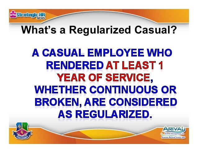 """Regular Non-Regular Work is """"Usually Necessary or Desirable in the Usual Business or Trade of the Employer"""" Same Security ..."""