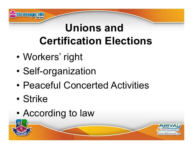 Unfair Labor Practice •Violation of workers' right •Self-organization & CBA •Committed by employer or by union •Define...