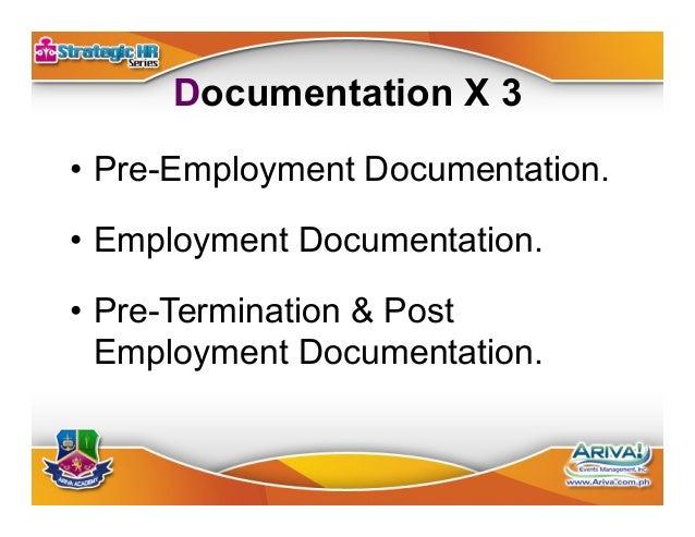 Model Employee Handbook •Written, dated, and signed receipt •Code of discipline •Code of ethics & performance criteria ...