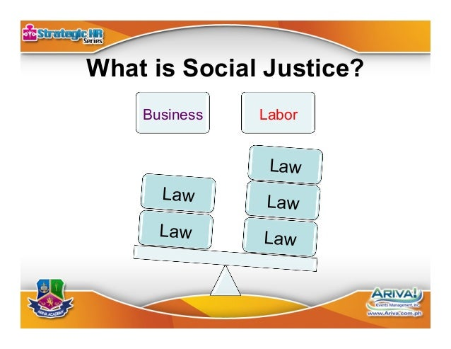 Elements of Labor Law Labor Law Shared Responsibility Social Justice Rule of Law