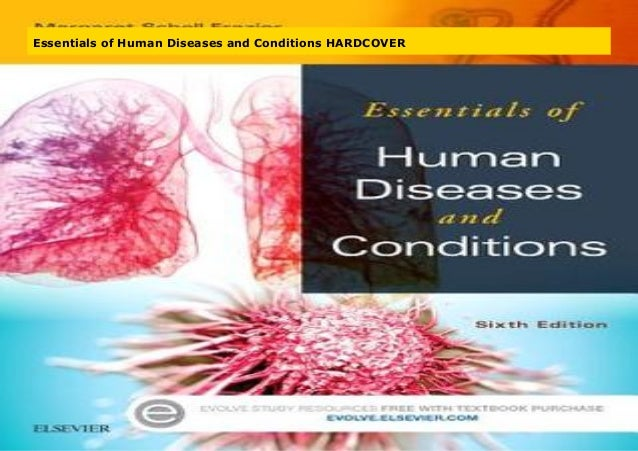 Essentials of Human Diseases and Conditions HARDCOVER