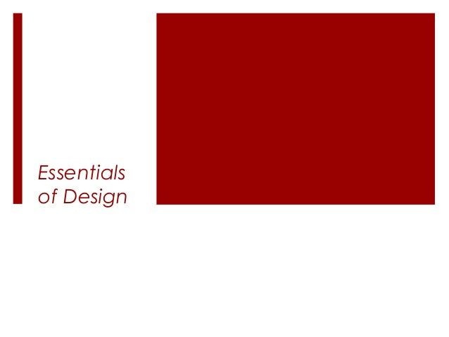 Essentialsof Design