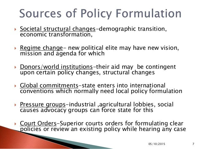 public policy formulation and implementation The research of nijmegen administration experts is focused primarily on the dynamics of public administration it involves research into the evaluation of developments in government policy and the way in which the organisation of public administration changes.